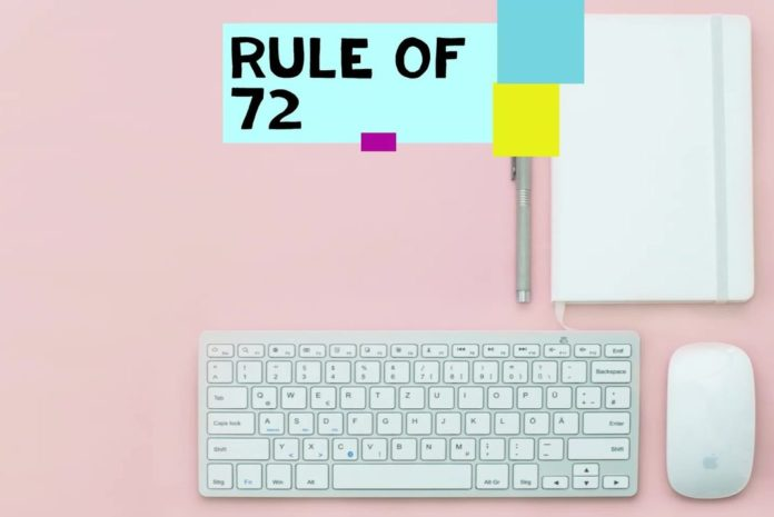 Rule of 72: Double your money ASAP